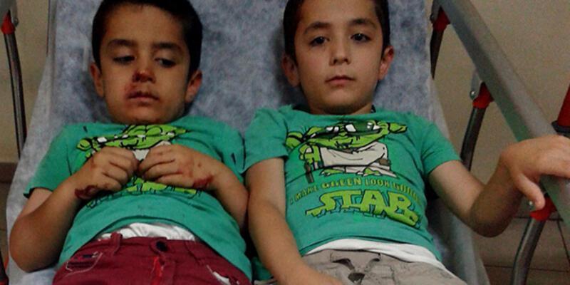 Kreş servisi, otobüse çarptı: 11'i çocuk 15 yaralı