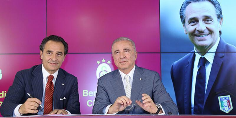 """Galatasaray'da """"Prandelli"""" dönemi başladı"""