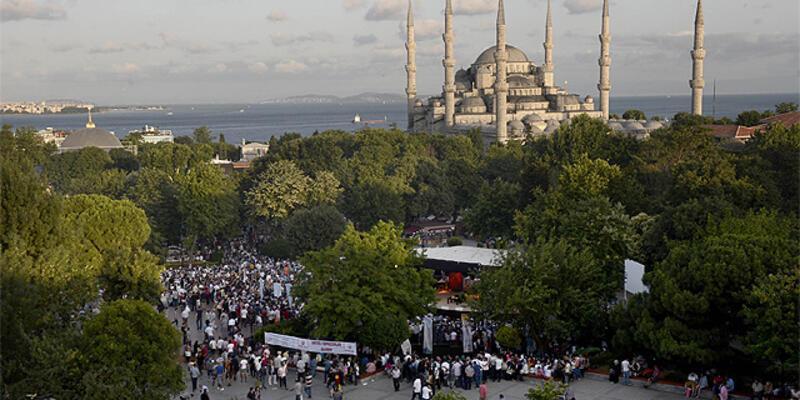İstanbul'a gelen turist sayısı yüzde 9 arttı
