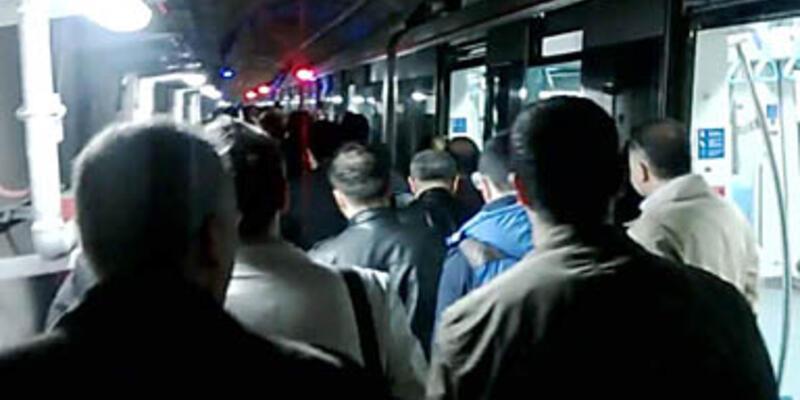 Vatandaşlar Boğaz'ın altında yürüdü