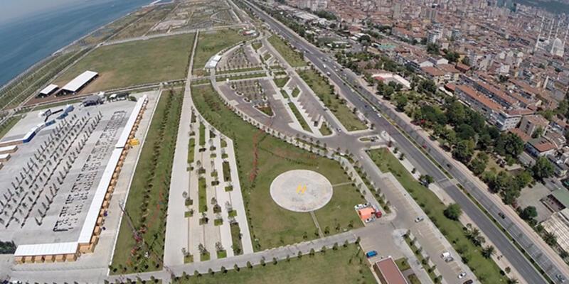 Maltepe'deki dev park halkın kullanımına açıldı