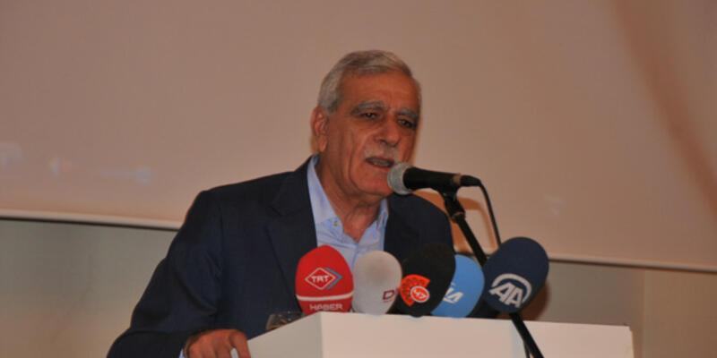 Ahmet Türk: Demirtaş sadece kürtlerin değil,tüm sömürülenlerin adayıdır