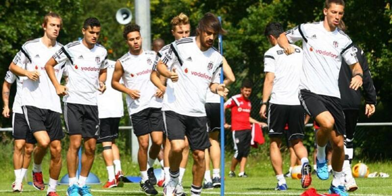 Beşiktaş, İngiltere'de ilk antrenmanını yaptı