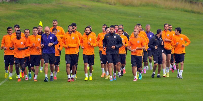 Galatasaray'ın hazırlık kampı başladı