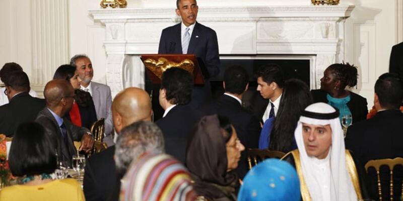 Obama, Beyaz Saray'daki iftarda İsrail-Hamas ateşkesi mesajı verdi