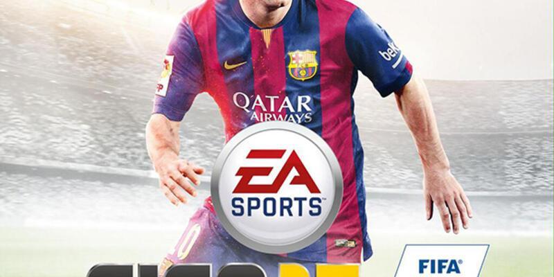 Messi FIFA 2015'e kapak oldu