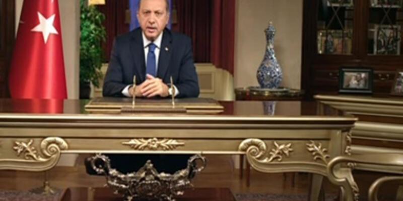 Erdoğan: Siyasi simgedir demek cehalettir