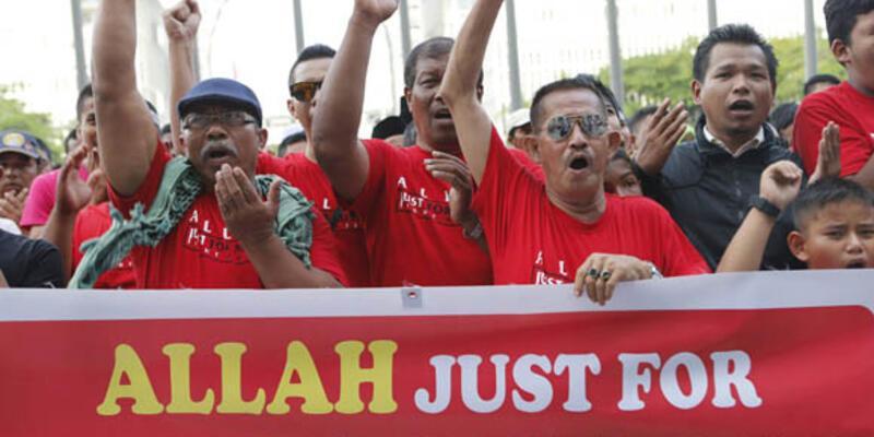 Malezya'da Allah kelimesi Müslüman olmayanlara yasaklandı
