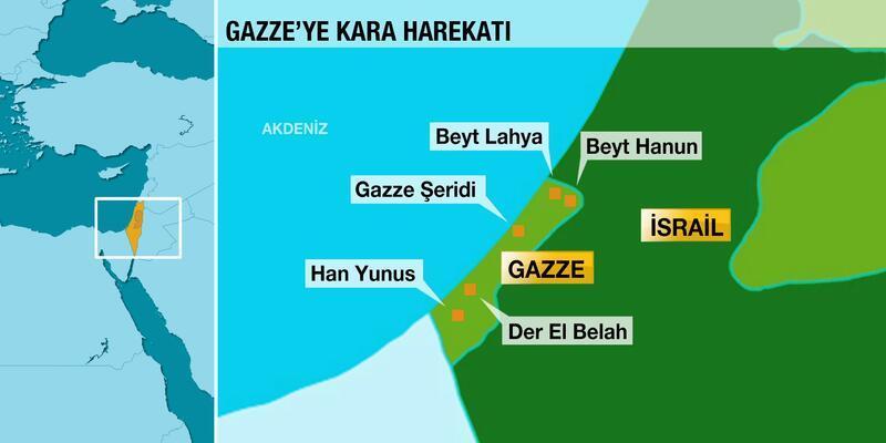 İsrail'den Gazze'ye kara harekatı!