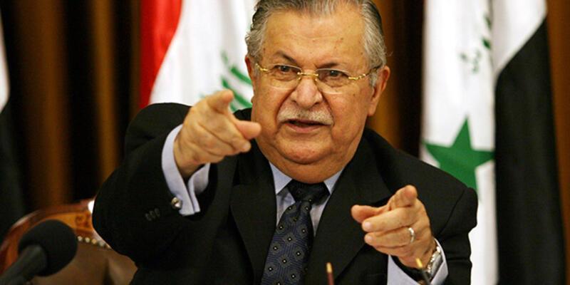 Talabani Irak'a döndü