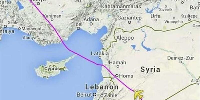 Malezya Havayolları Ukrayna yerine Suriye üzerinden uçmaya başladı