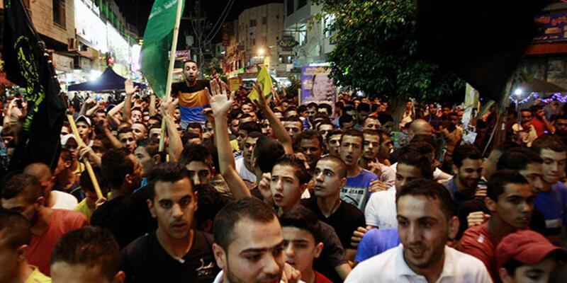 Gazze protestosuna İsrail'den müdahale!