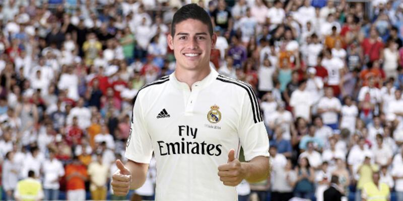 James Rodriguez Real Madrid'de