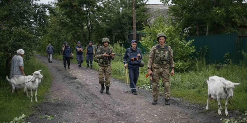 Ukrayna ordusu doğuda üç kasabanın kontrolünü ele geçirdi
