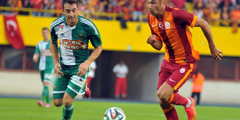 Hazırlık maçı: Galatasaray - Rapid Wien: 1-3