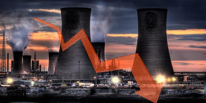 Sanayide kapasite kullanımı yüzde 75'in altına düştü