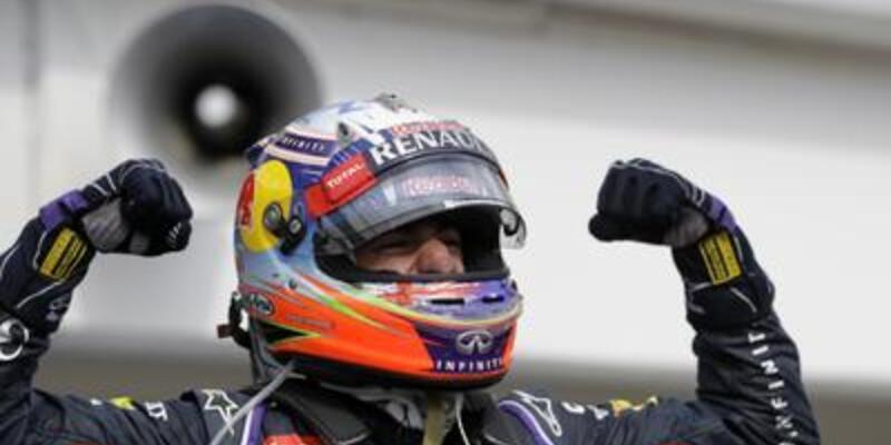 Ricciardo Macaristan'da zirvede