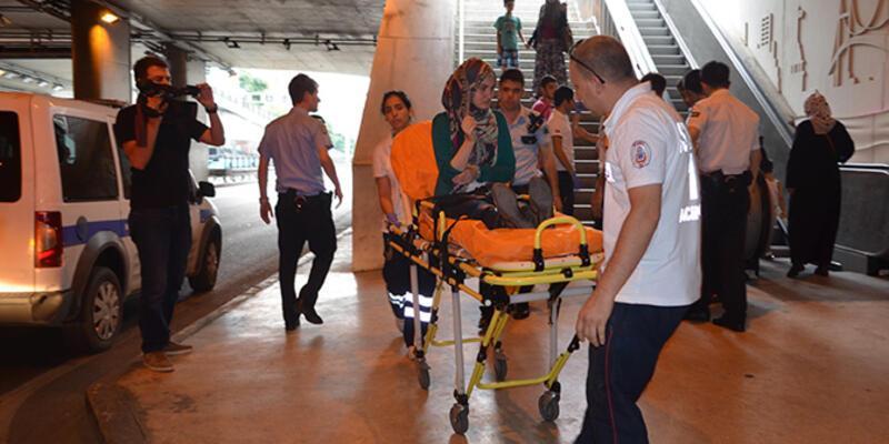 Taksim'de gaspçı dehşeti