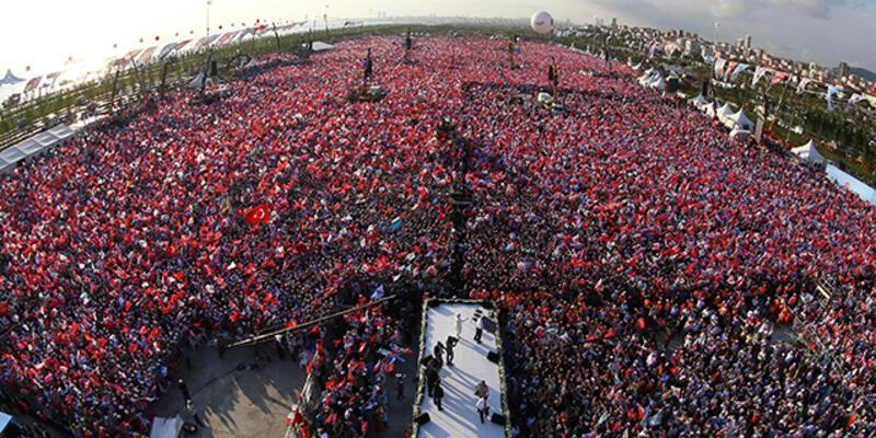 Erdoğan Maltepe'de halka hitap etti
