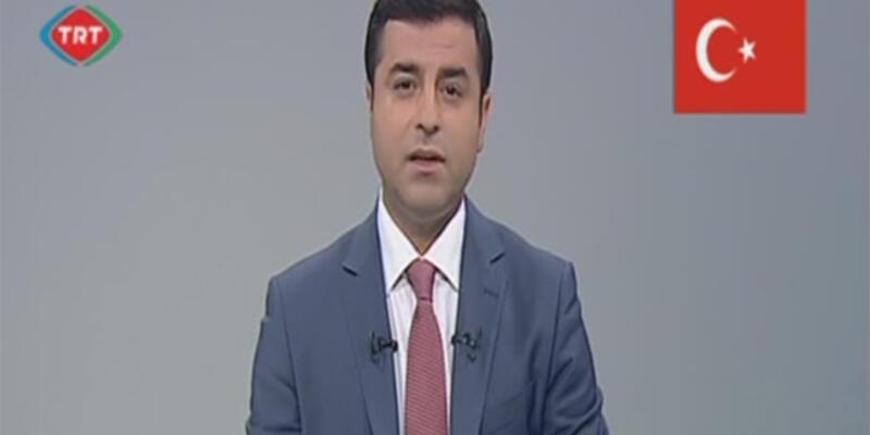 TRT ekranlarında TRT'ye imalı mesaj