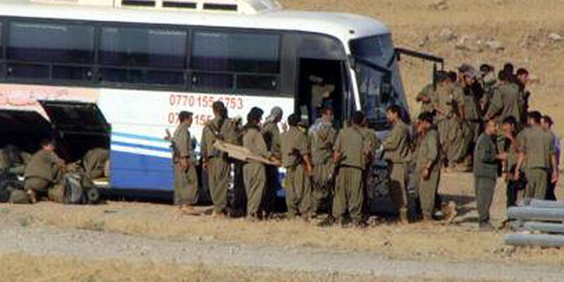 Şengal'e Kandil'den otobüslerle PKK'lı sevkiyatı