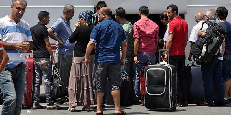 IŞİD'den kaçan Yezidiler Türkiye'de...
