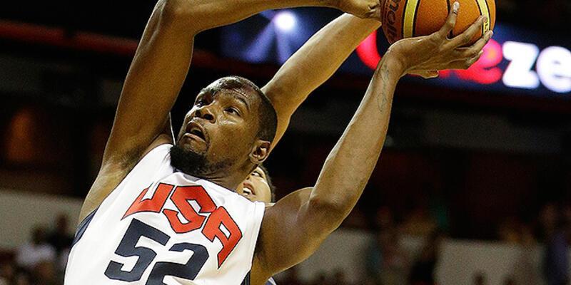 Kevin Durant FIBA Dünya Kupası'nda olmayacak