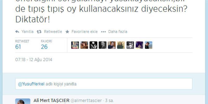 Tekmeci müşavir Yusuf Yerkel'den isim vermeden Kılıçdaroğlu'na eleştiri: Diktatör