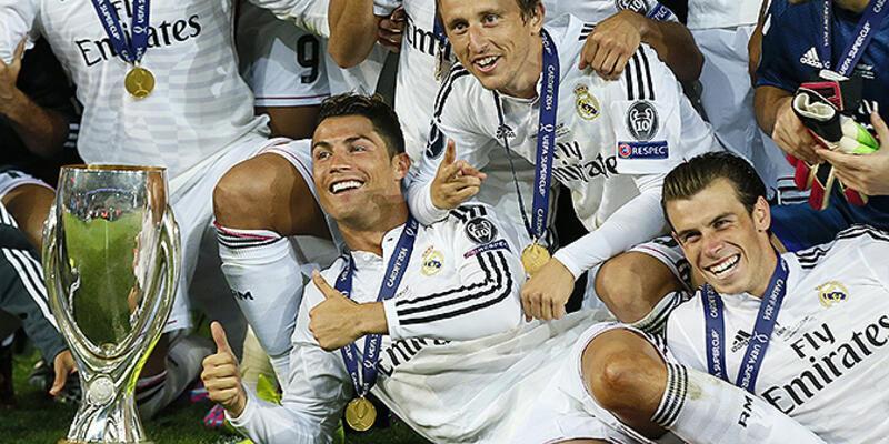 UEFA Süper Kupa: Real Madrid: 2- Sevilla: 0