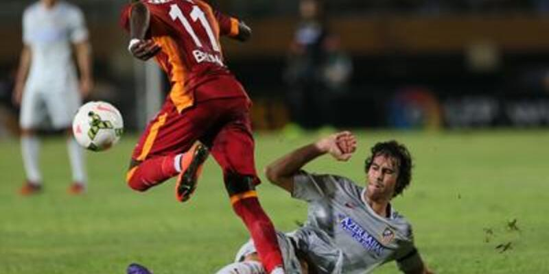 Galatasaray'da Bruma'nın tedavisine başlandı