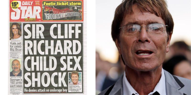 Cliff Richard pedofili olduğu iddialarını reddetti