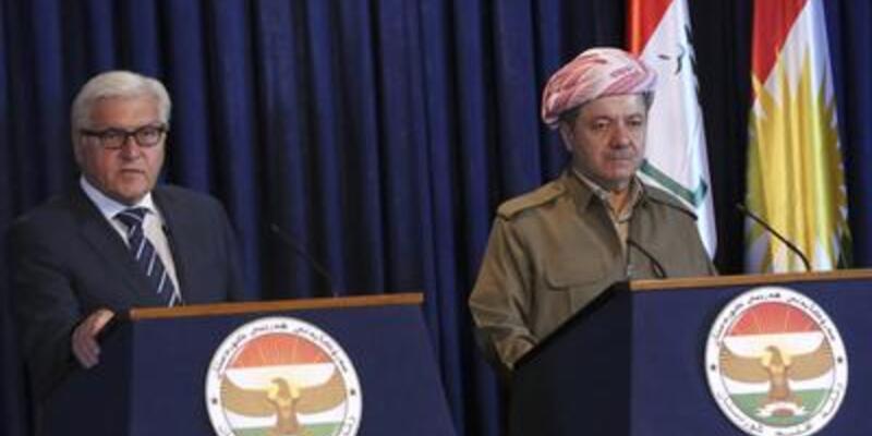 Alman Dışişleri Bakanı Barzani ile görüştü