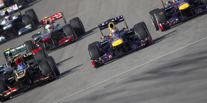 F1 ABD'de de Vettel