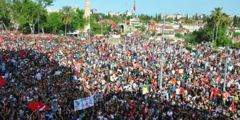 """Antalya'da """"Gezi"""" iddianamesi hazır"""