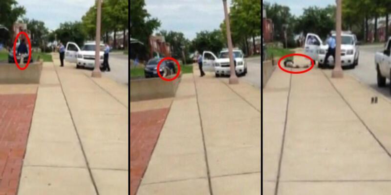 ABD'de polisin öldürdüğü ikinci gencin vurulma anı!..