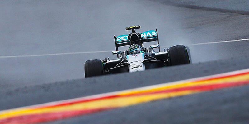 Pole position Nico Rosberg'in
