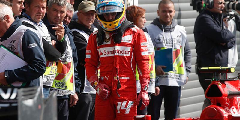 Alonso'ya göre Ricciardo'nun şampiyonluk şansı yok