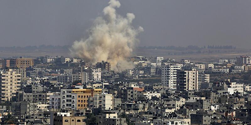 İsrail ordusu Gazze'ye hava saldırısı düzenledi