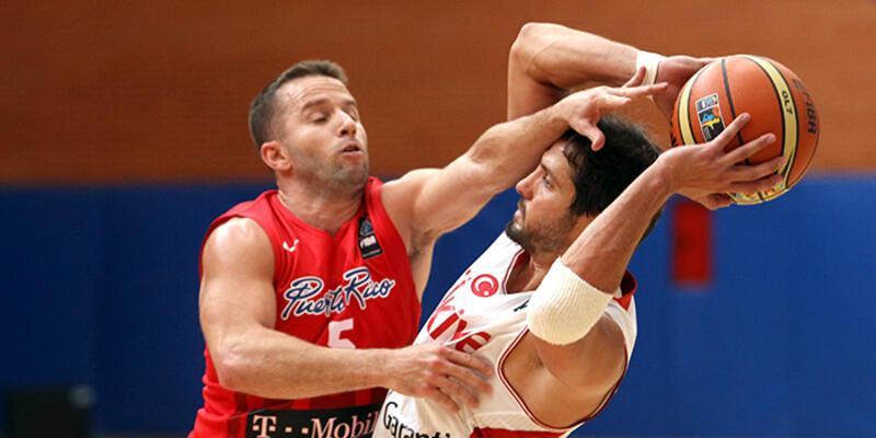 Türkiye özel maçta Porto Riko'yu 94-73 yendi