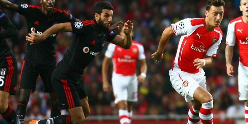 Arsenal - Beşiktaş: 1-0