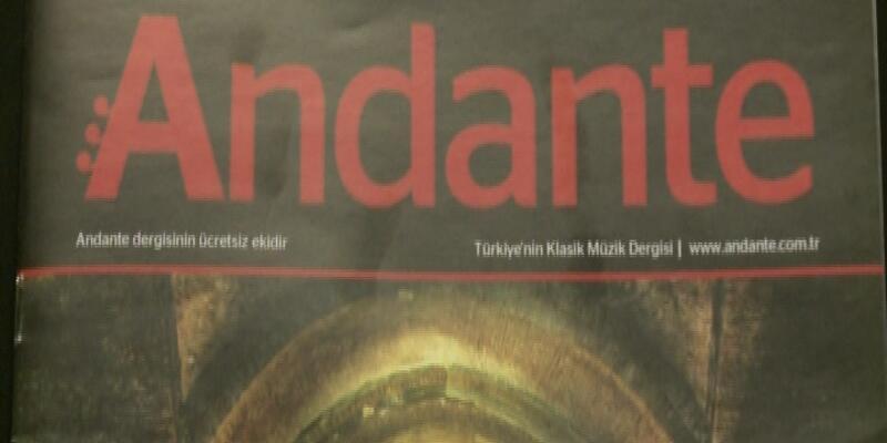 Andante Dergisi 10 yaşında