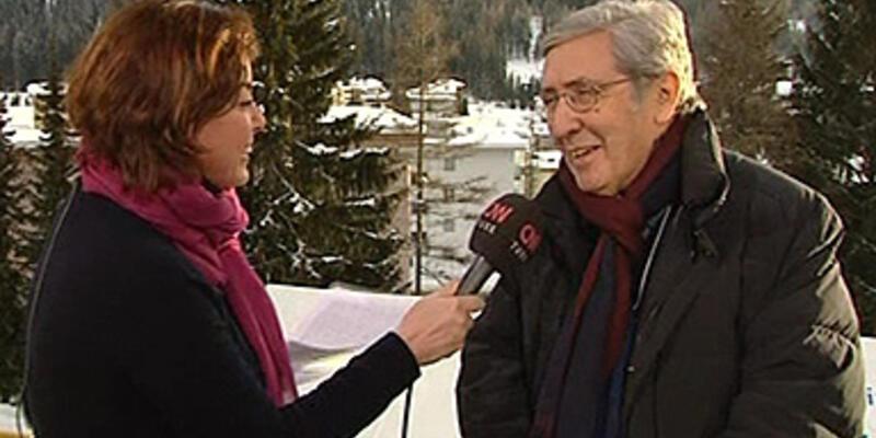 CNN TÜRK Davos'ta