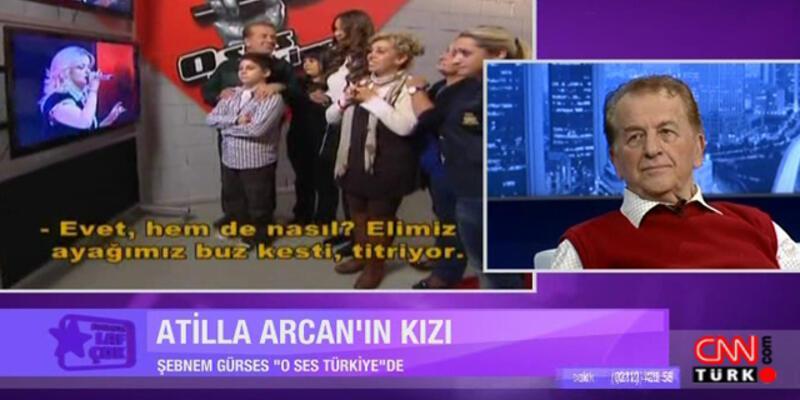 """""""Kızım O Ses Türkiye'de finale kalamadı"""""""