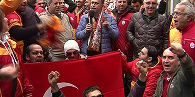 Galatasaray taraftarlarından skor tahmini