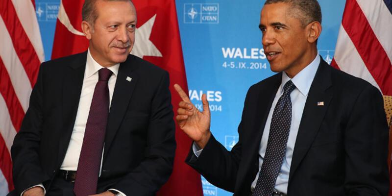 Obama ile Erdoğan telefonda görüştü