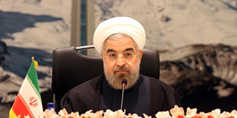 """Ruhani: """"Uranyum zenginleştirmek hakkımız"""""""