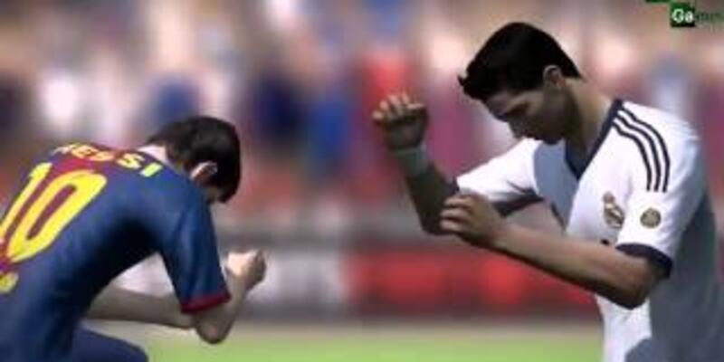 Messi ile Ronaldo yumruk yumruğa