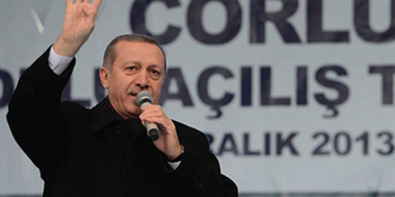"""Erdoğan: """"İkinci bir bayrağın tasavvuru düşünülemez"""""""