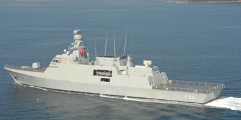 Pakistan'ın savaş gemisi Türkiye'den