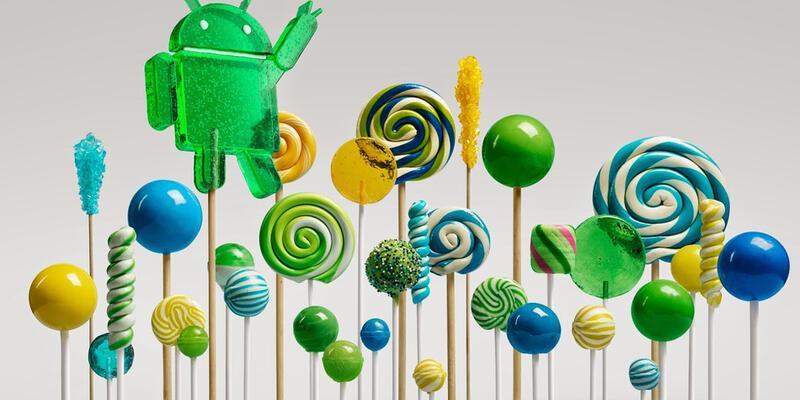 Android 5.0.1 geldi